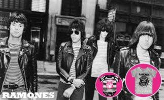 Ramones ropa bebe rock