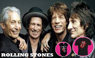 Rolling Stones ropa bebe rock