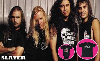Slayer ropa bebe rock